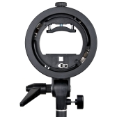 PRO Godox S-type S-EC Speedlite Bracket Holder for Elinchrom Mount Speedlite Flash Snoot Softbox