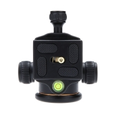 "Andoer Camera Tripod Ball Head Ballhead with Quick Release Plate 1/4"" Screw"