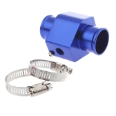 Water Temp Temperature Joint Pipe Sensor Gauge Radiator Hose Adapter 40mm Blue