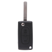 Flip Remote Key Case Shell for CITROEN C2 C3 C4 C5 C6 C8 2 Buttons Replacement