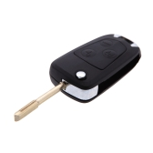 Uncut Modify Flip Folding Remote Key Shell for Ford/Focus/Mondeo Switchblade 3 Button