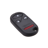 Remote Key Case for HONDA CRV S2000 Insight Prelude Replacement Fob 4 Button