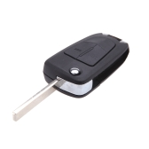 2 Buttons Flip Remote  Folding Key Fob Case for Vauxhall Opel Corsa Astra Vectra Signum