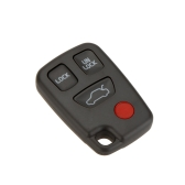 4 Buttons No Chip Blank Replacement Remote Key Shell Case for Volvo V70 S40 S60
