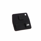 Replacement 3 Button Rubber Remote Pad for Toyota Avensis Corolla Lexus Rav4 3 Button Remote Key Fob