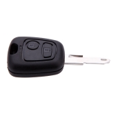 Peugeot 206 2 Button Remote Key 433MHz + Transponder Chip ID46 P/N 73373067C