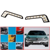 8 LED DRL Car Daytime Running Light