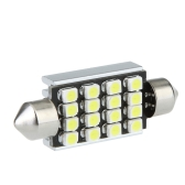 LED Car Light 42mm 16 1210 Canbus White