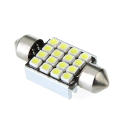 LED Car Light 36mm 16 1210 Canbus White