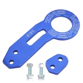 Rear Tow Towing Hook for Universal Car Auto Trailer Ring Blue