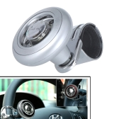 Car Steering Wheel Knob Ball Hand Control Power Handle Grip Spinner Silver