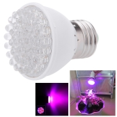 E27 38LED 2.2W Plant Grow Light Bulb Garden Hydroponic Lamp 28 Red 10 Blue  110-130V Energy Saving for Indoor Flower Plants Growth Vegetable Greenhouse