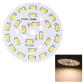 12W Round 5730 SMD 24 LEDs Super Bright LED Chip Light Lamp Bulb  DC 36-41V