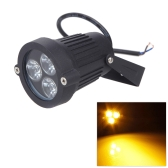 9W AC85-265V LED Lawn Light Lamp with Stake Spotlight IP65   Waterresistant Outdoor Garden Pond Park Landscape