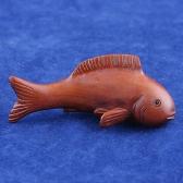boxwood netsuke fish