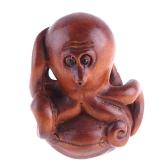 boxwood netsuke octopus