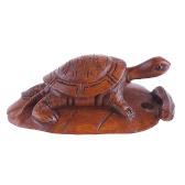 boxwood netsuke turtle