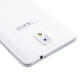 "JIAKE N900 Smart Phone Android 4.2 MTK6572 Dual Core 5.3"" TFT Screen Air Gesture 512MB RAM 4GB ROM 0.3MP 2MP Dual Cameras White"