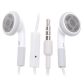 3.5mm Jack Earphone white for iPhone  Android  Smartphone