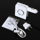 Car Charger and AC adapter for iPad /iPhone/iPod