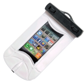 Waterproof Vacuum seal Bag & earphone for Mp3, Mp4, iPod, iPhone White