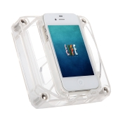 Wireless Audio Amplifier Music Speaker External Horn Dock Stand for Apple iPhone 4 4s Portable