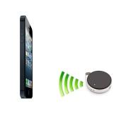 IPhone 5 4 s iPad 4 の VTag Anti-Lost オブジェクト ファインダー防犯アラーム ミニ Bluetooth 4.0 BLE ブルー スマート アプリ ブラック