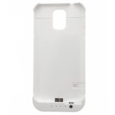 3800mAh External Battery Backup Power Bank Charger Case for Samsung Galaxy S5 i9600 Portable Emergency White