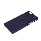 幻想的な普遍的な星 PC 保護ハード戻るケース カバー肌アップルの iPhone 6 の 4.7「濃い青