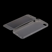 TPU Transparent Ultra Slim Flip Case Cover Protective Shell for iPhone 6 4.7""