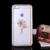 Ultrathin Lightweight Plastic Fashion Bling Bumper Shell Case Protective Back Cover for iPhone 6 Plus