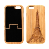 Lightweight Bamboo Fashion Environmental Pattern Protective Case Back Cover for iPhone 6 4.7""