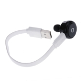 Wireless One-ear Mini Bluetooth Earphone Headphone Headset for iPhone 6 6 Plus Samsung Xiaomi HTC Mobile Phone