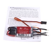 Original ZTW Spider Series 20A OPTO Brushless Speed Control ESC 2-6S Lipo for Multicopter Qudcopter Airplane Part