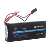 BQY Transmitter LiPo Battery 11.1v 2200mah Futaba connector for Futaba WFLY FS Transmitter Battery