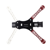 MWC X-Mode Alien 450 Quadcopter Frame Red & White / Heighten Broaden Landing Gear Skids