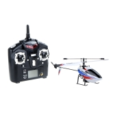 Original Wltoys V911 2.4G 4CH Single Blade Pearl White RC Helicopter w/ Transmitter (Wltoys V911;4CH RC Helicopter;RC Toys)