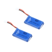 2 Pcs Walkera Upgrade Spare LiPo Battery 3.7V 240mAh 25C for Walkera Mini/Genius/Supper CP 6CH 3D Helicopter