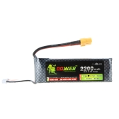 Oriainal Lion Power Lipo Battery 11.1V 2200Mah 30C MAX 45C w/XT60 Discharge Plug for RC Car Airplane Align TREX 450 Helicopter Part