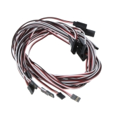 10Pcs 1000mm 1m Servo Extension Lead Wire Cable for Futaba JR Servo Part