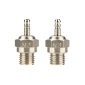 2 Pcs Original HSP N3 N4 Glow Plug Spark Plug 70117 For RC Cars