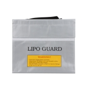 High Quality RC LiPo Battery Safety Bag Safe Guard Charge Sack 22 * 18 * 5.5 cm Silver