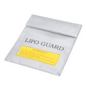 High Quality RC LiPo Battery Safety Bag Safe Guard Charge Sack 22 * 18 cm Silver