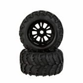 2Pcs RC 1/8 Monster Car Wheel Rim and Tire 810006 for Traxxas HSP Tamiya HPI Kyosho RC Car