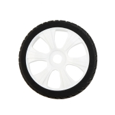 4Pcs High Performance 1/8 Rally Car Wheel Rim and Tire 180031 for Traxxas HSP Tamiya HPI Kyosho RC Car