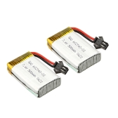 2pcs Original JJRC H8C-10 Battery 7.4V 500mAh Li-po Battery for JJRC H8C H8D DFD F183 F182 RC Quadcopter