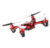 Mini UFO 2.4G 4 Channel 6AXIS Aero Craft RC Quad Copter 3D Rolling Red