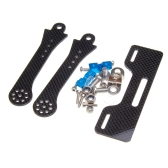GoolRC 7-8 inch FPV LCD Monitor Mount Bracket to Futaba/JR/WFLY Transmitter with Metal Bar
