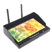 5.8GHz FPV 32CH  Dual Diversity HD LCD Screen Receiver 7in Monitor RX-LCD5802