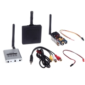 5.8Ghz 8CH AV RC305 Receiver Wireless 5.8G 500mW Transmitter 11db Aerial Panel FPV Transmission Set